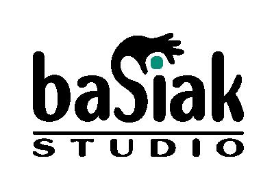 basiak.studio   logo   komunikacja wizualna marki   grafika użytkowa   retusz