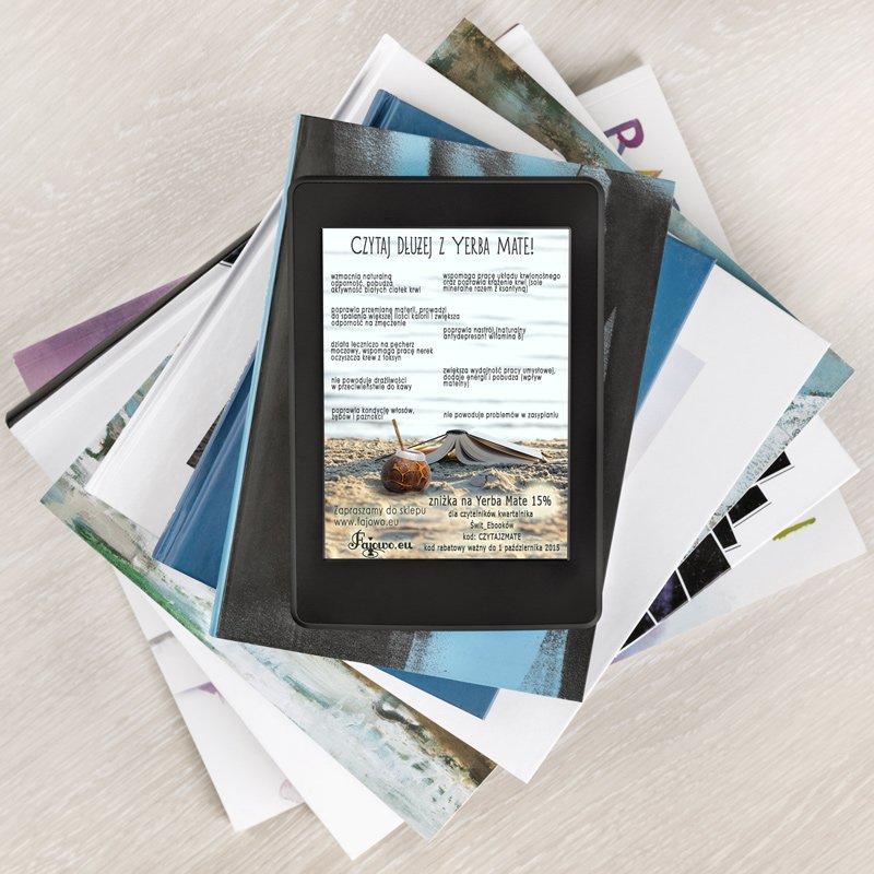 projekt ulotki elektronicznej na czytniki e-book